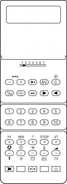 CLASSIC IRC81055-OD Alat kawalan jauh gantian
