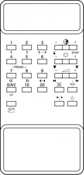 Alat kawalan jauh gantian untuk Classic IRC81013-OD