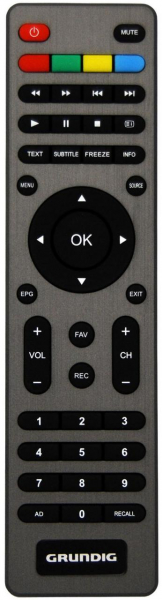 Replacement remote control for JVC RM-C1245