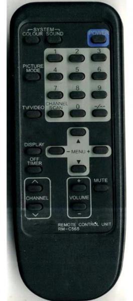 Vervangings afstandsbediening voor JVC 22LK2BU
