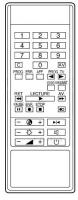 JVC 25M501 Vervanging afstandsbediening