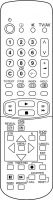 CLASSIC IRC81093-OD Erstatningsfjernkontroll