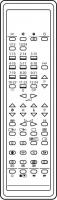CLASSIC IRC81108-OD Erstatningsfjernkontroll