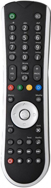 Replacement remote control for Classic IRC83269
