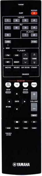 Controlo remoto de substituição para Yamaha RX-V373