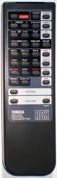 Replacement remote control for Yamaha AX-870
