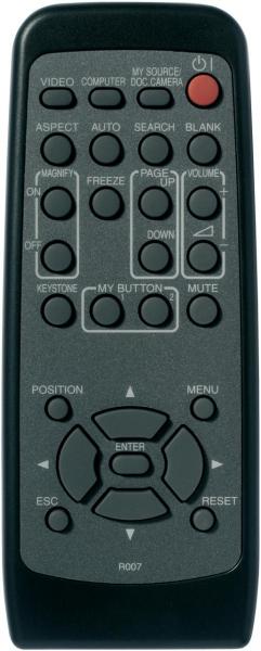Controlo remoto de substituição para 3m X30N