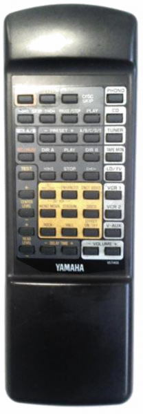 Replacement remote control for Yamaha AX2000-HI FI