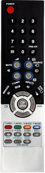 Аналог пульта ДУ для Samsung DVD1080P7