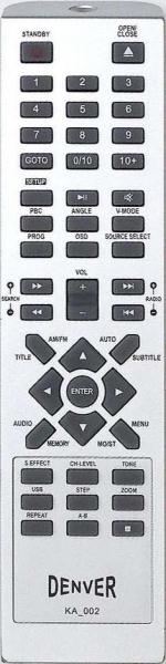 MYSTERY MHT-633U Náhradné diaľkové ovládanie
