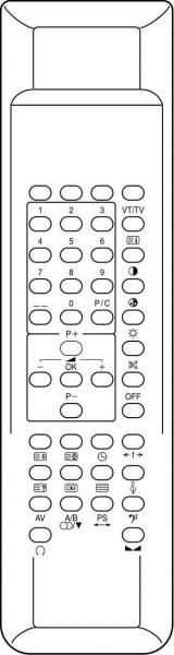 Náhradné diaľkové ovládanie pre Bruns 3.75E+11