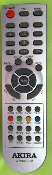 VR CT-21VUBS-G Fjärrkontroll för utbyte