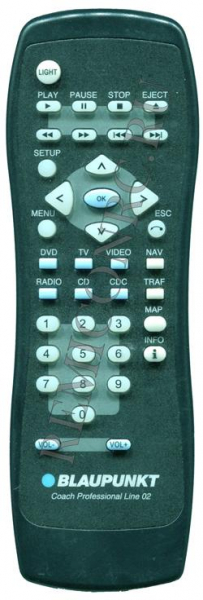 Replacement remote control for Blaupinkt CPLine02