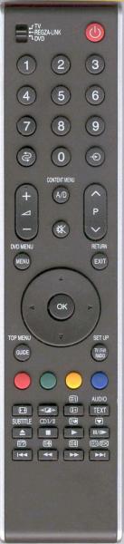 TOSHIBA CT-90344 Pamalit na remote control