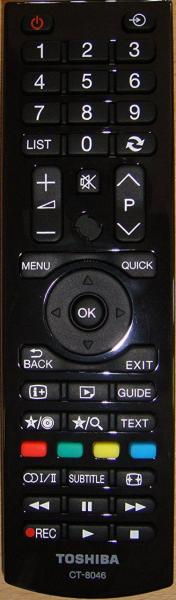 Pamalit na remote control para sa Toshiba CT-8053