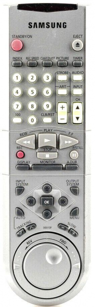 Replacement remote control for Samsung 00010F